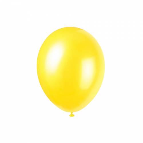 8 Ballons Jaune