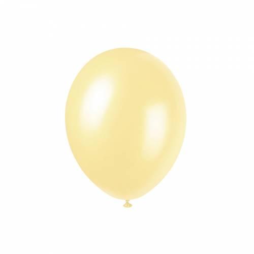 8 Ballons Ivoire