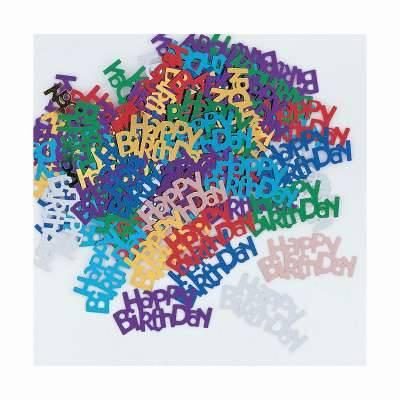 Confettis Happy Birthday (14 g)