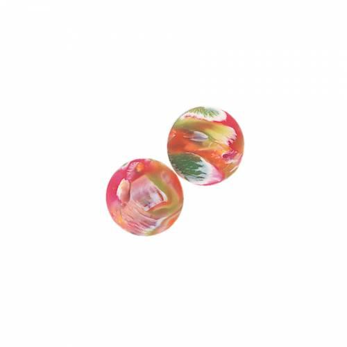 12 Balles rebondissantes Marbré