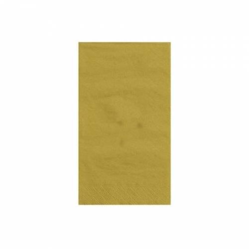 20 Serviettes Dorées - 2 Plis