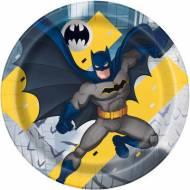 8 Assiettes Batman