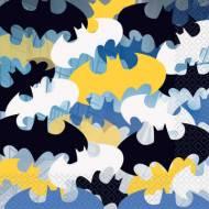16 Serviettes Batman