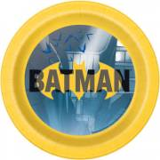 8 Petites Assiettes Batman