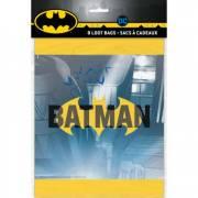 8 Pochettes à cadeaux Batman