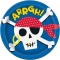 8 Assiettes Pirate images:#0