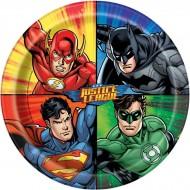 8 Assiettes Justice League