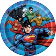 8 Petites Assiettes Justice League