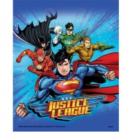 8 Pochettes à cadeaux Justice League