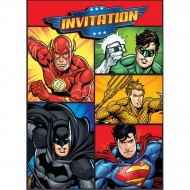 8 Invitations Justice League
