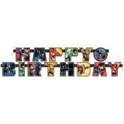 Guirlande Lettre Happy Birthday Justice League