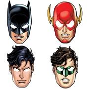 8 Masques Justice League - Carton