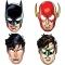 8 Masques Justice League - Carton images:#0