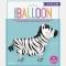 Ballon Zèbre Marcheur - 76 cm images:#1