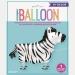 Ballon Zèbre Marcheur - 76 cm. n°2