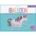 Ballon Licorne Marcheur - 86 cm. n°2
