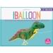 Ballon Dino Marcheur - 89 cm. n°2