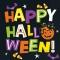 16 Serviettes Chat & Citrouille Happy Halloween images:#0