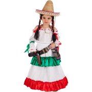 Déguisement Mexicaine 9-10 ans