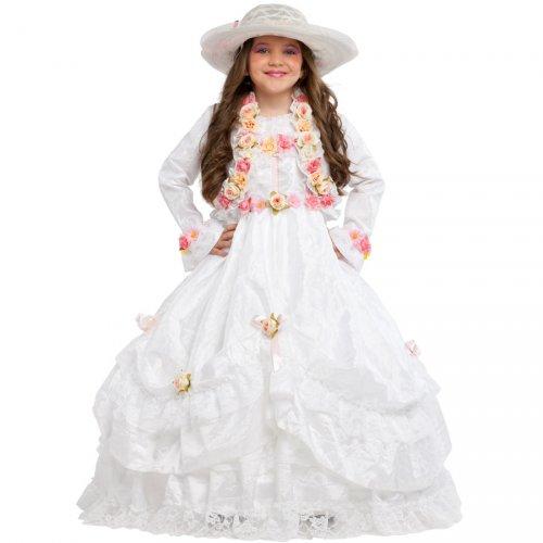 Déguisement Princesse avec Roses Luxe