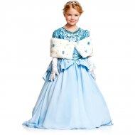 Déguisement Princesse Prestige Bleue Luxe