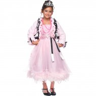 Déguisement Princesse Bal Rose Luxe Taille 5-6 ans