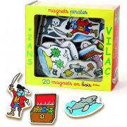 Magnets Pirates en bois