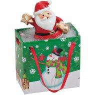Mini Sac Cadeau Père Noël (5 cm) - résine