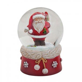 Boule à Neige Papa Noël (6 x 4,5 cm)