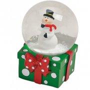 Boule à Neige Cadeau Bonhomme de Neige (6 x 4,5 cm)