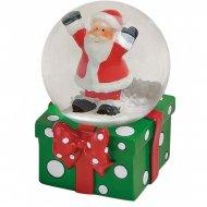 Boule à Neige Cadeau Père Noël (6 x 4,5 cm)