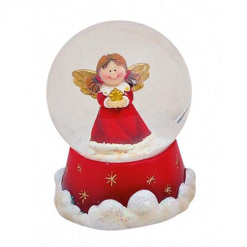 Boule à Neige Petit Ange (6 x 4,5 cm)