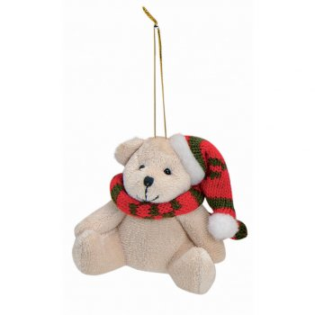 Suspension Ourson en Peluche (9 cm)