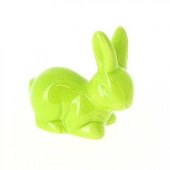 1 Lapin Vert (7cm) - Céramique