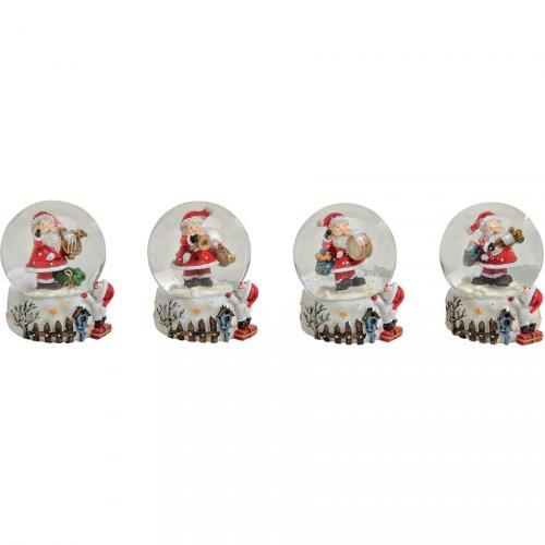 Petite Boule à Neige Père Noël (5,5 cm)