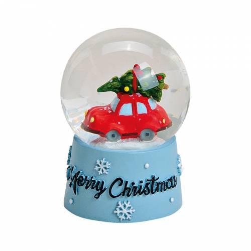 Boule à Neige - Voiture de Noël