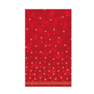 Nappe rouge et or