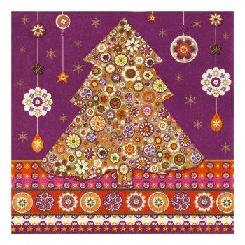Serviettes Christmas Tree