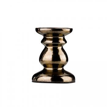 Bougeoir en Céramique Bronze