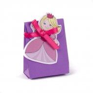 10 Mini Ballotins Princesse avec Vignettes