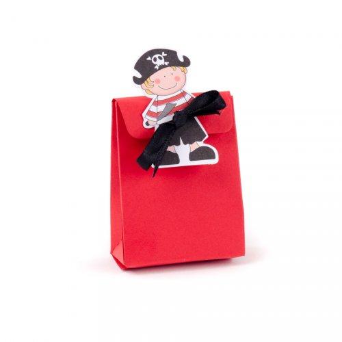 10 Mini Ballotins Jack Le Pirate avec Vignettes