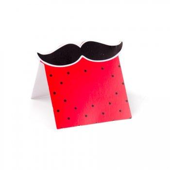 10 Marque-places Moustache