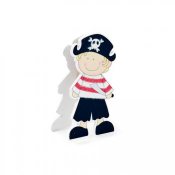 1 Pince Déco Jack le Pirate