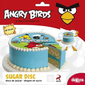 Disque en sucre Angry Birds