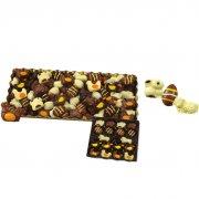 18 Chocolats 3D Animaux et Oeufs Pâques (250 g)