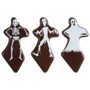 3 Pics Fantôme en Chocolat noir
