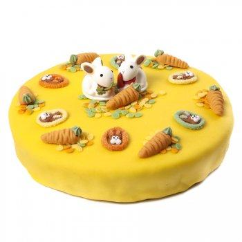Gâteau Lapin Ø 22 cm, 8/10 parts