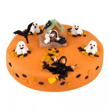 G teau halloween 22 cm 8 10 parts pour l 39 anniversaire de votre enfant annikids - Deco gateau halloween ...