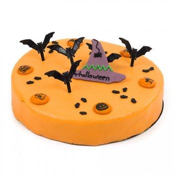 Gâteau Halloween Chapeau Sorcière Ø 22 cm, 8/10 parts