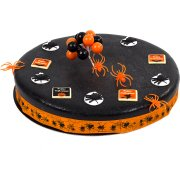 Gâteau Halloween Araignées Ø 28 cm, 12/14 parts